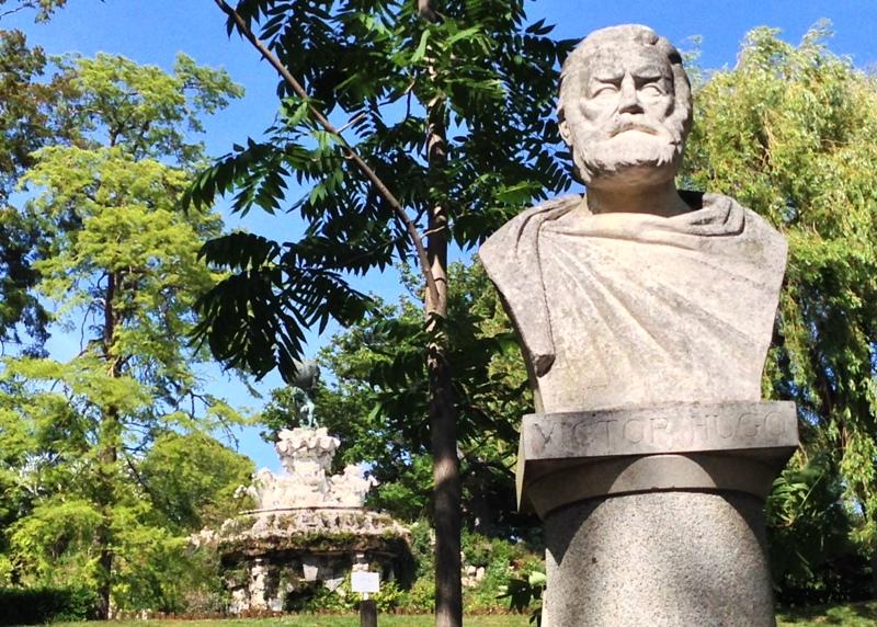 Victor Hugo buste i Beziers