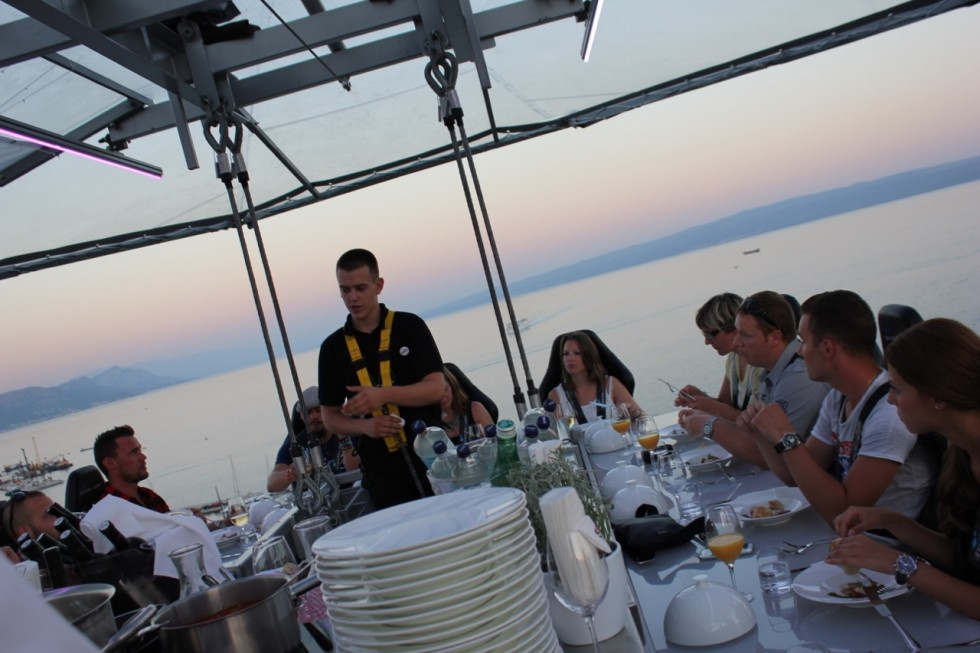 Dinner in the sky Split