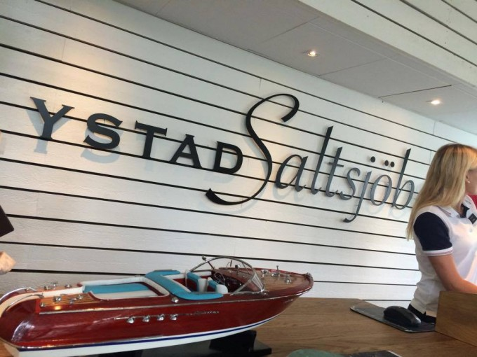 Ystad Saltsjöbad reception
