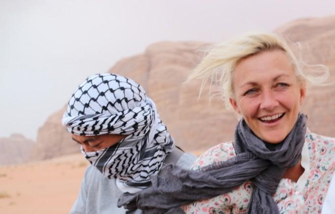 Rejseblokkens Karen Seneca i ørkenen, Jordan