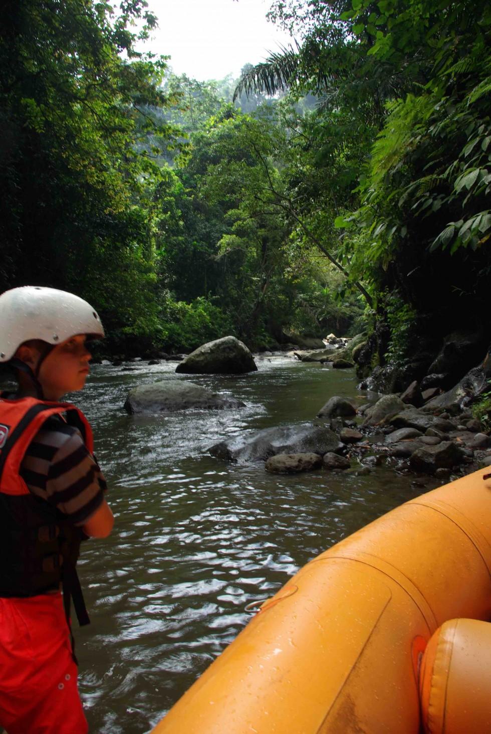 Riverrafting på Bali