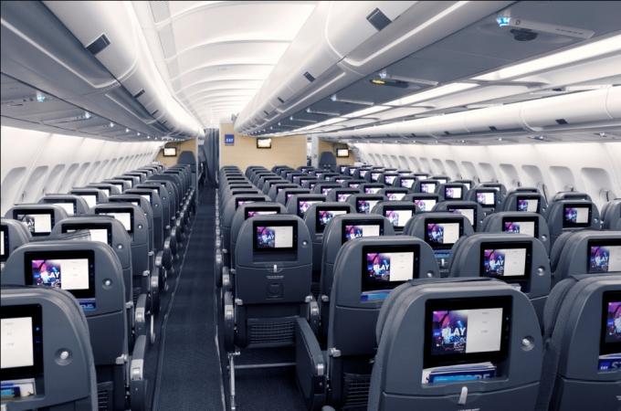 SAS Go ny kabine i airbus 330-300