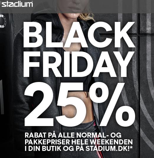Link til Stadium Black weekend