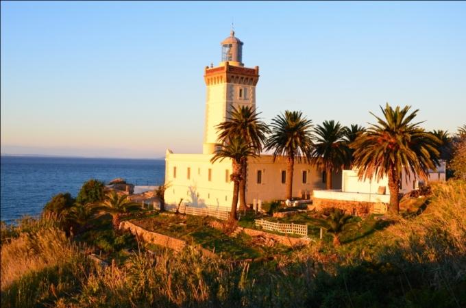 Fyrtårn ved Gibraltarstrædet