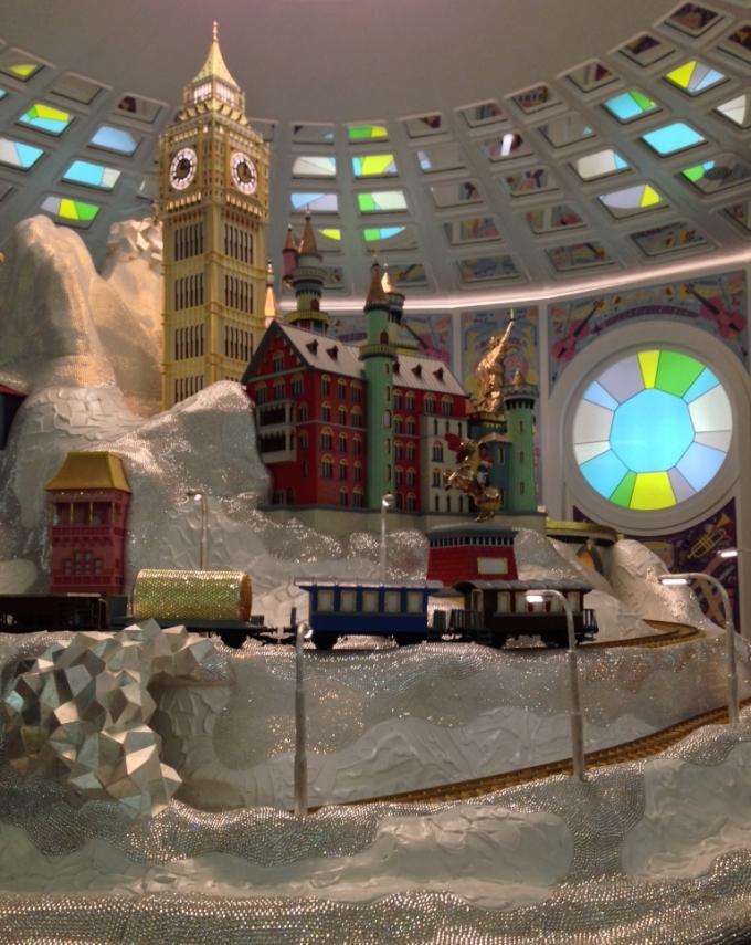 Swarovski Kristallwelten Kunstværk i museet