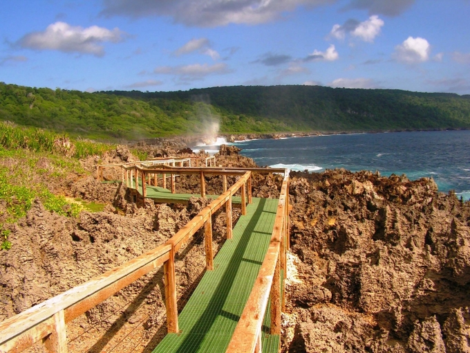 Blowhole Christmas Island