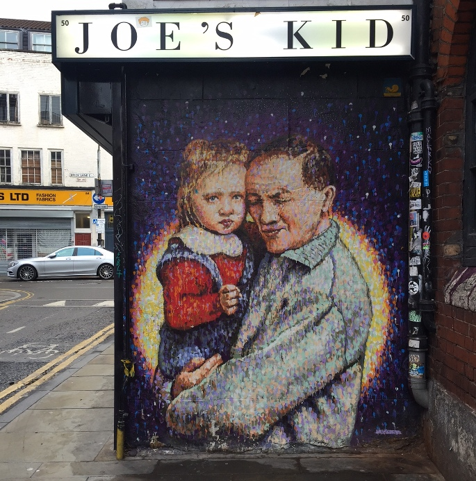 Street art i Østlondon - Joe's Kid