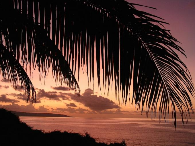 Solnedgang på Juleøen