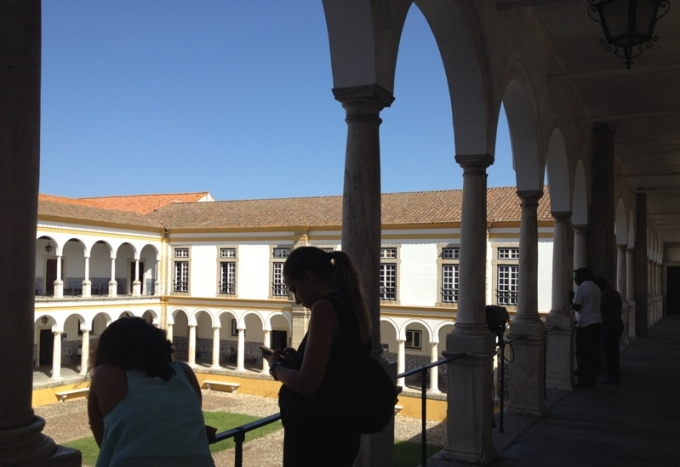 Universitetet i Ëvora. Foto: Karen Seneca