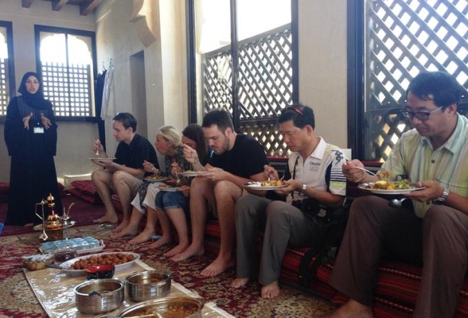 Kulturmiddag i Dubai