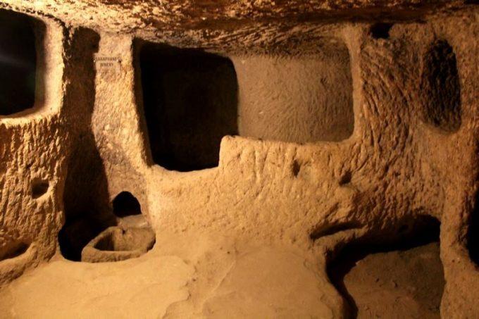 Foto fra Kappadokiens undergrund
