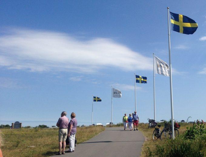 Flag udenfor Sollidens Slott