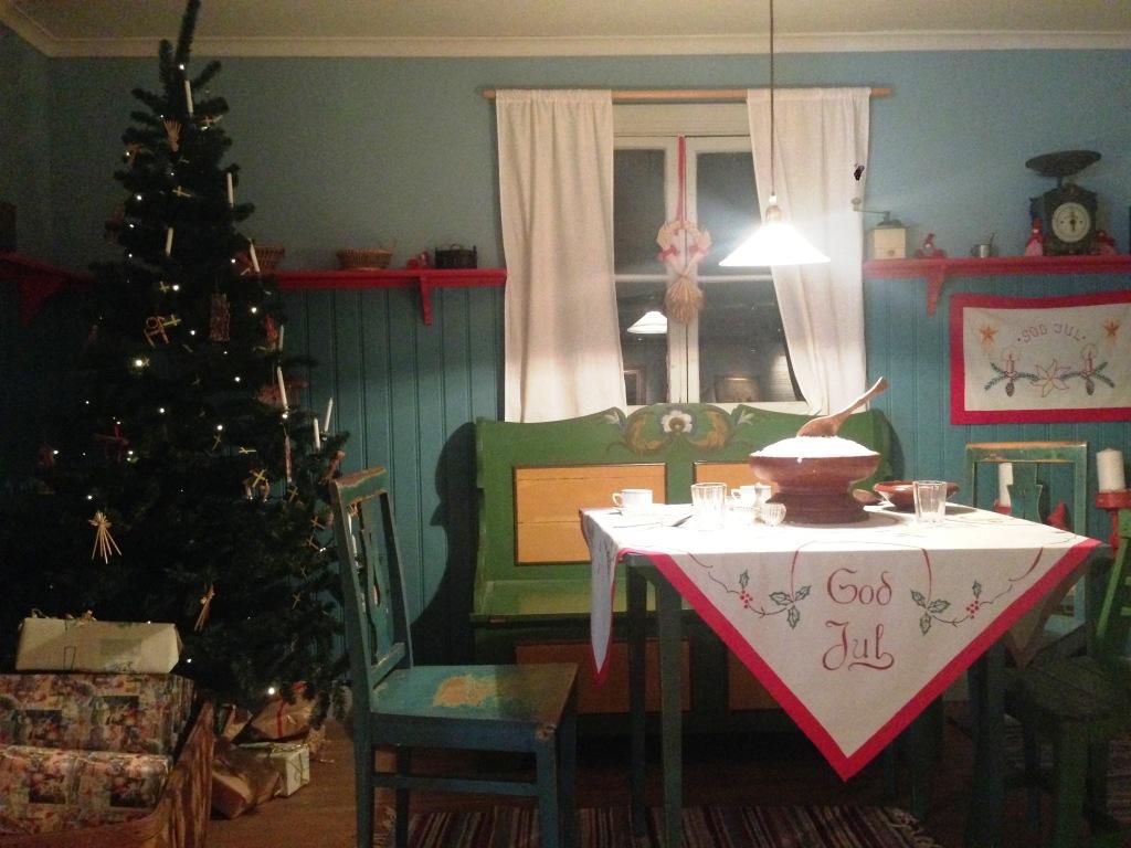 Jenny Nyströms julestue på Kalmar Läns Museum