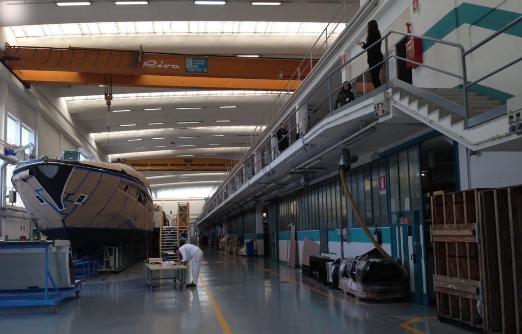 Rivas bådværft i Sarnico