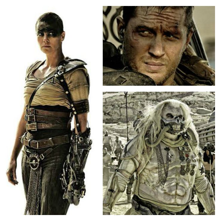 MadMax Person collage