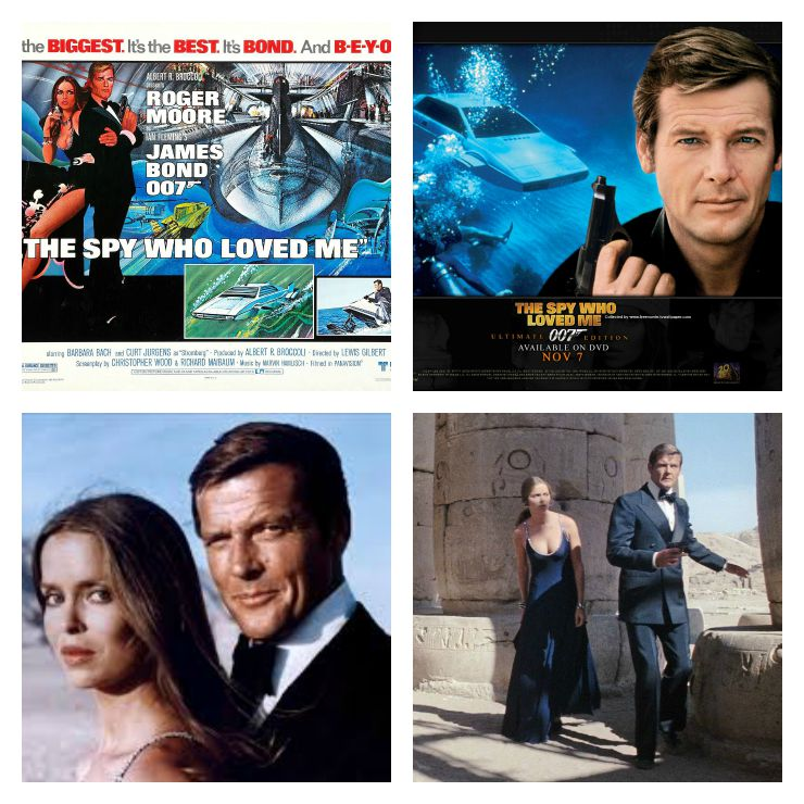 Bond Collage The Spy Who Loved Me