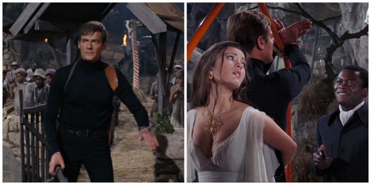 Bond Live and let die Collage