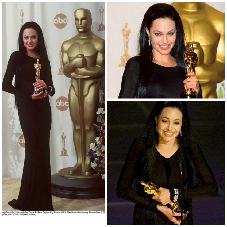 Collage Angelina Jolie Oscar Best sup act