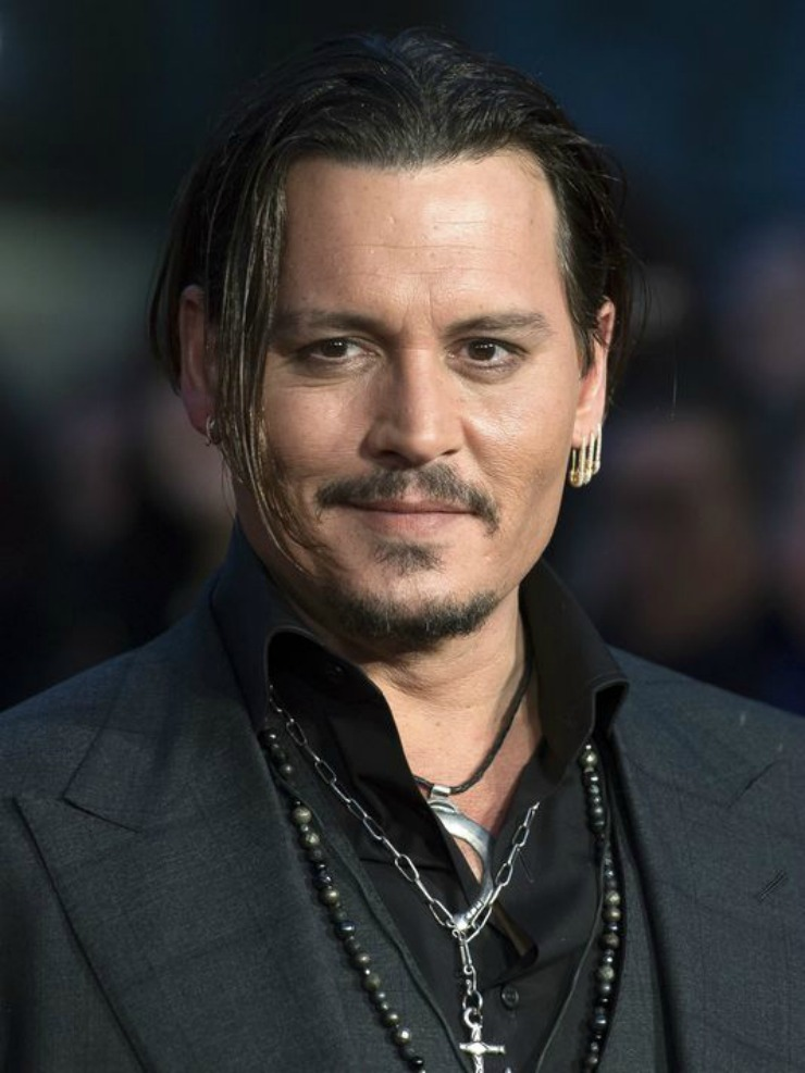 Johnny Depp Close - London Film Festival