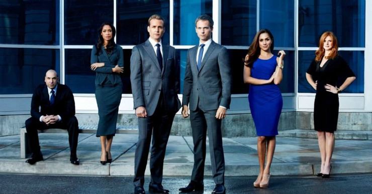 Suits Blue