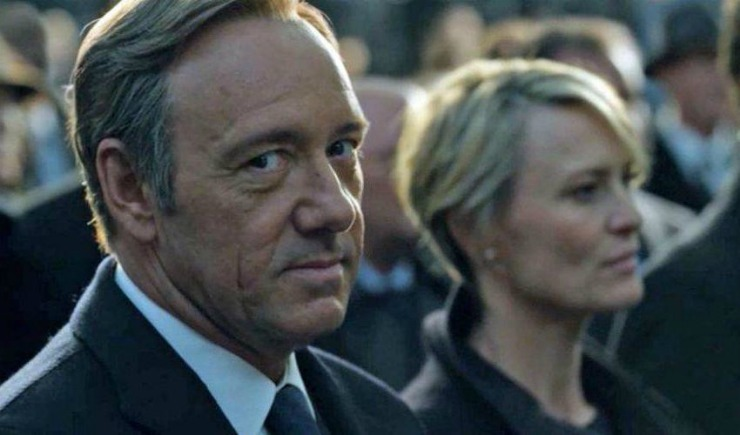 House of Cards sæson 4 Netflix