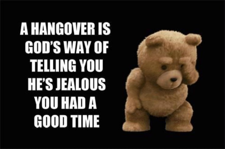 Ted Hangover Quote