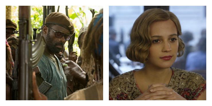 SAG Idris ELba og Alicia Vikander