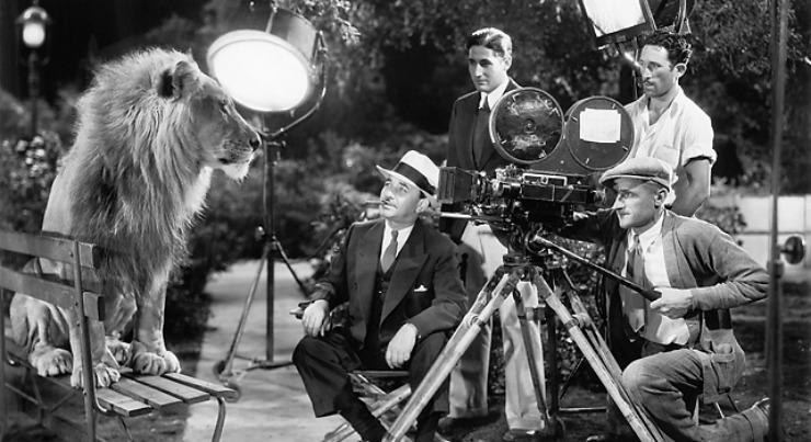 Hollywood Studio_gamle dage_old days
