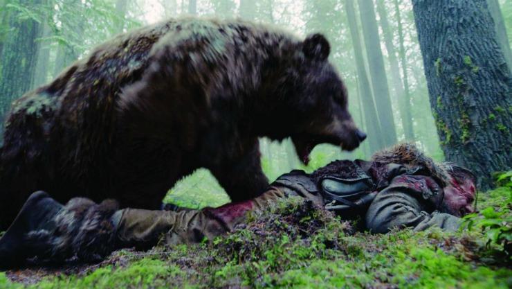 The Revenant Bear attact