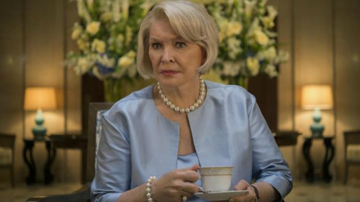 HouseofCards Franks mother-in-law