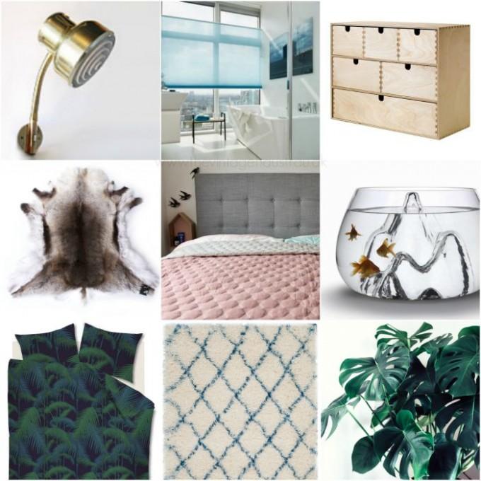 soveværelses Collage