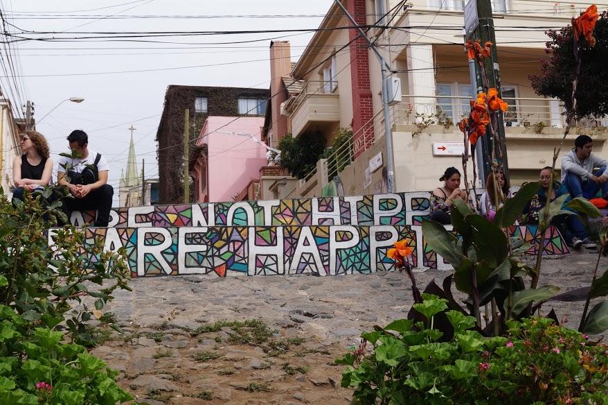 Valparaiso - et UNESCO world heritage site. FULD af FARVER