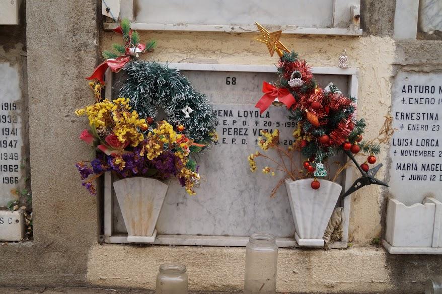 Kirkegården er også festligt