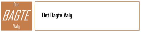 Det BAGTE Valg - log