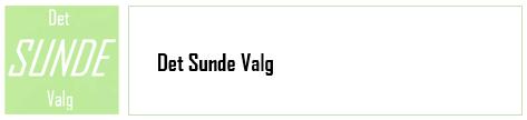Det SUNDE Valg - log