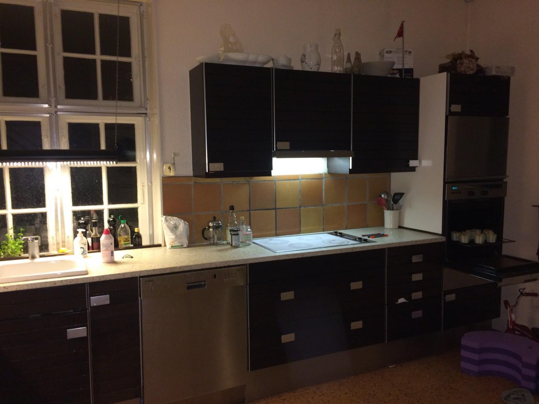 Vores nuværende køkken