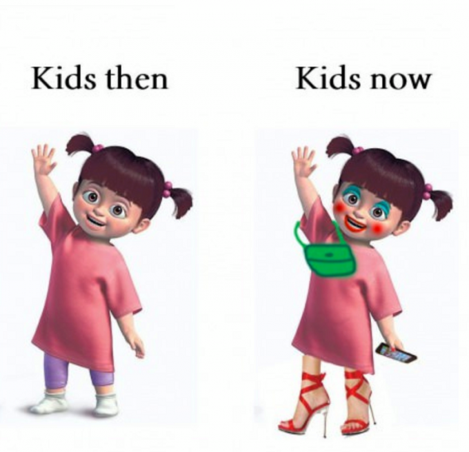 kids-then-and-now