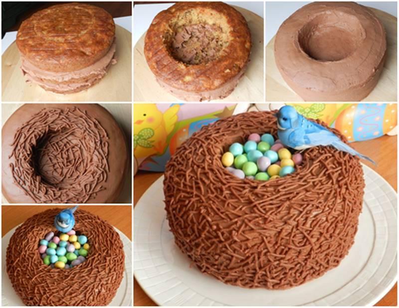 Creative-Ideas-DIY-Easter-Bird-Nest-Cake