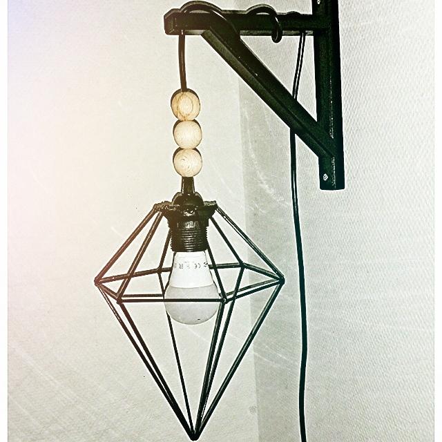 Diamant lampe!