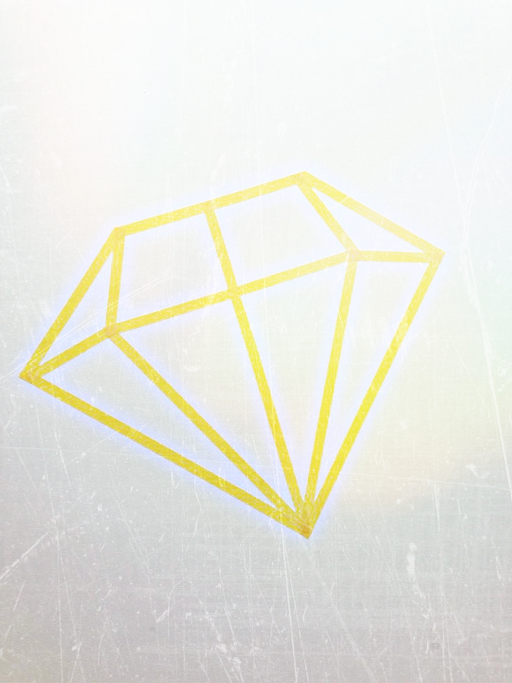 Tape diamant!
