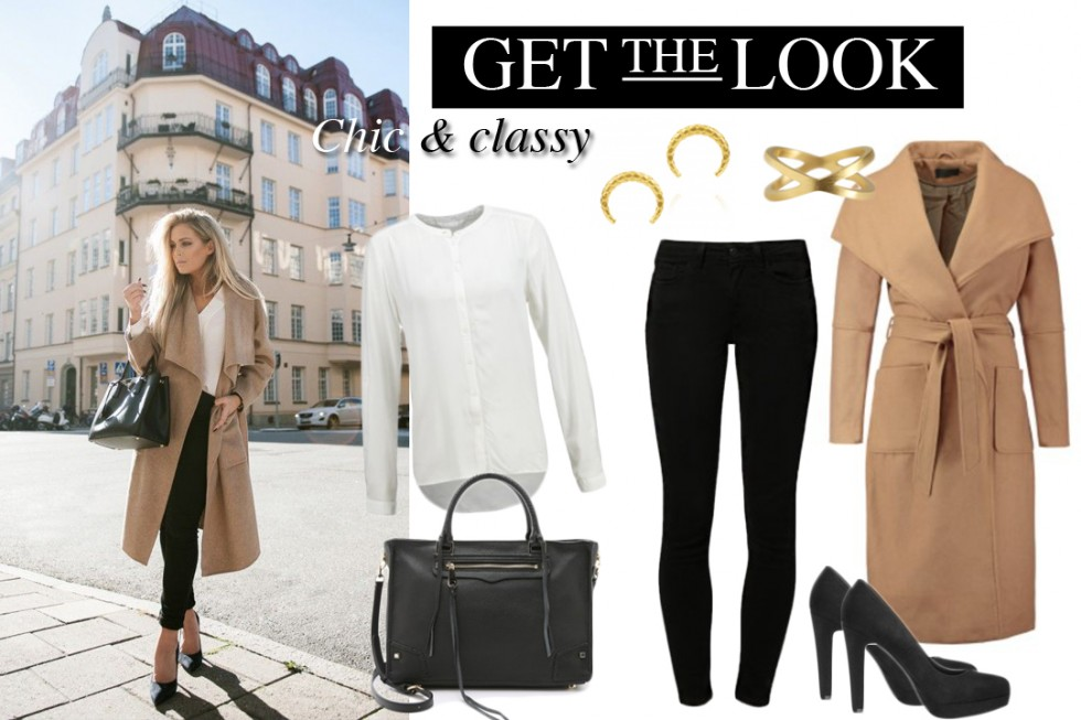 GET THE LOOK - CAMEL COAT & SKINNY JEANS