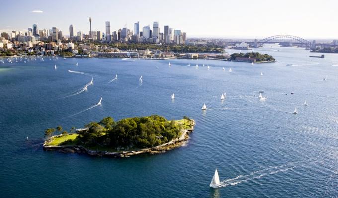 Sådan ser den ud fra oven:) Photocredit: www.australia.com