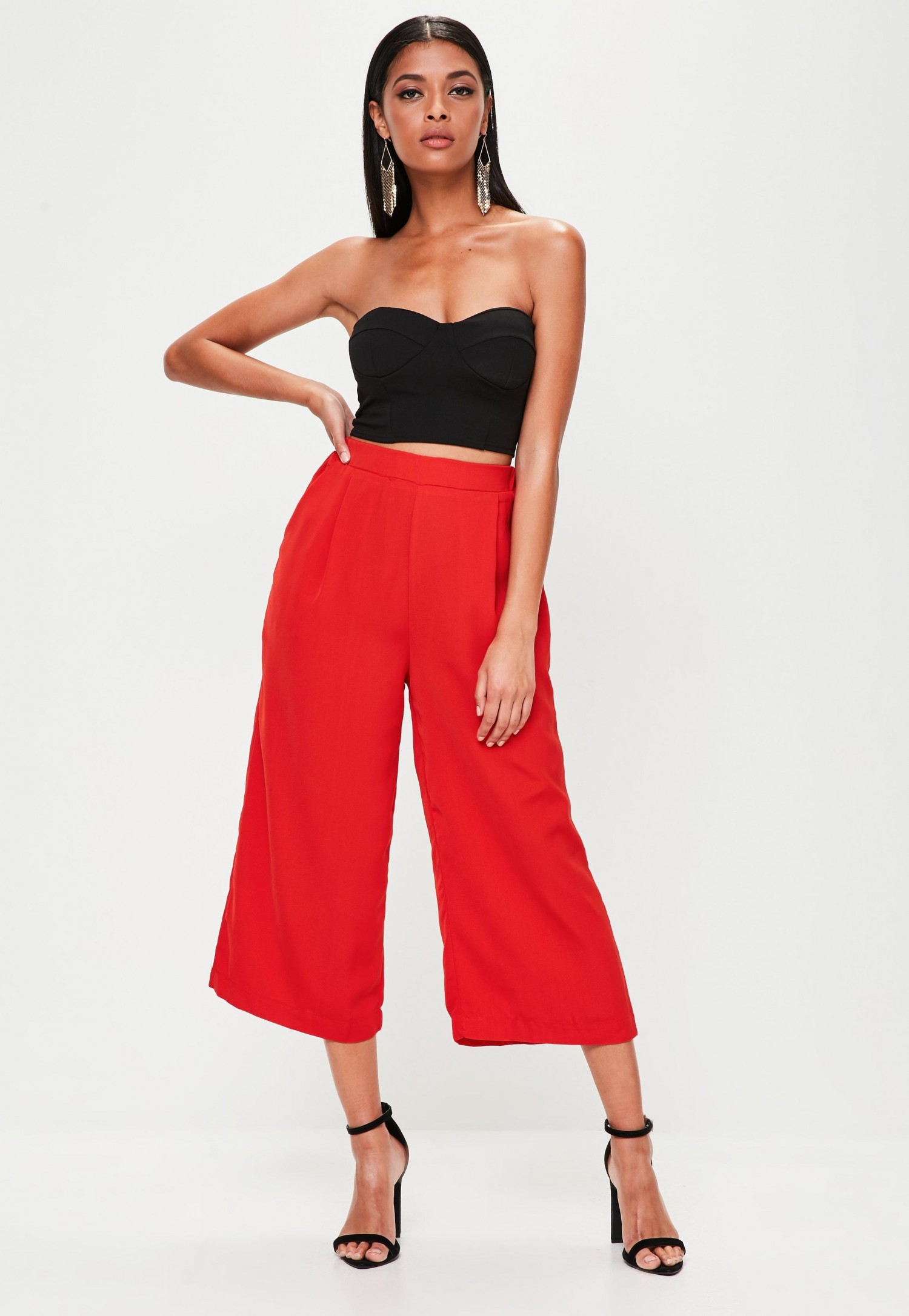 red-wide-leg-culottes