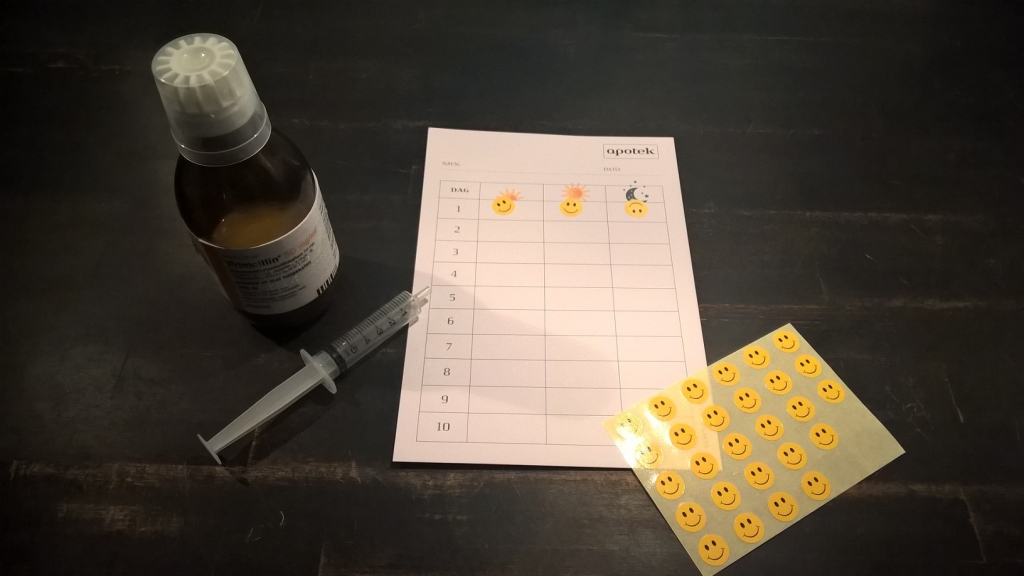 Antibiotika og Smileysystem