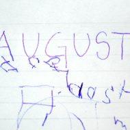 august-skriv