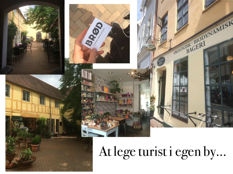 turist i egen by