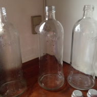 tomme flasker til shots