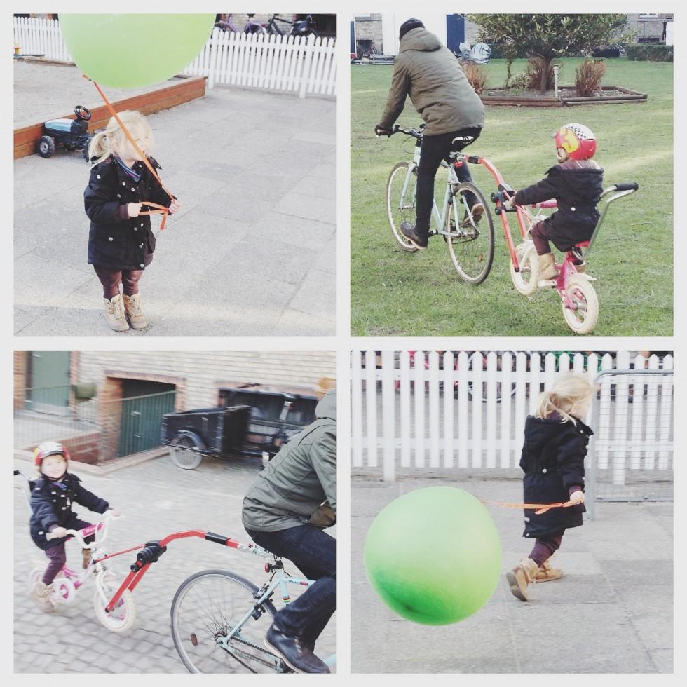 efterløber til cykel børn