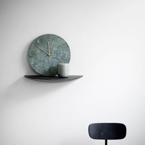 grøn marmor ur