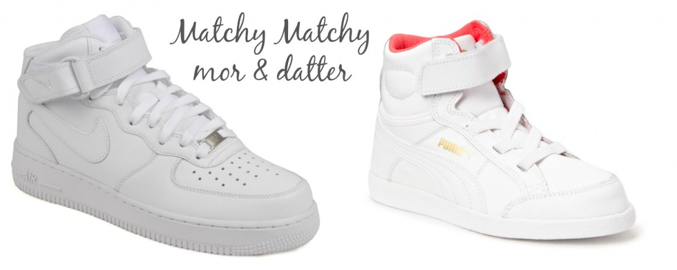 sneakers mor datter matchy